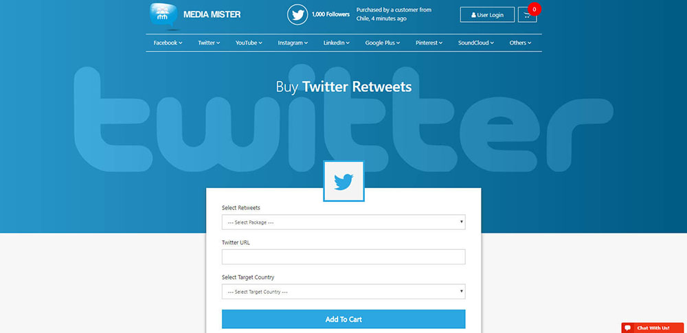 MediaMister Twitter Retweets Review