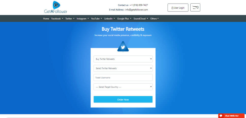 GetAFollower Twitter Retweets Review